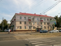Казань, улица Гвардейская, дом 1. многоквартирный дом