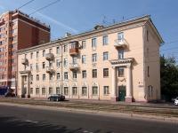 Казань, улица Гвардейская, дом 10. многоквартирный дом