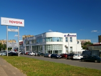Kazan, Ibragimov avenue, house 48. automobile dealership