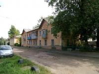 Kazan, Kaspiyskaya st, house 4. Apartment house
