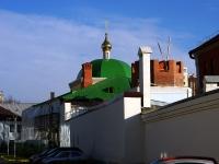 Kazan, Tufan Minnulin st, house 21. building under reconstruction