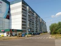 Казань, улица Меридианная, дом 13. многоквартирный дом