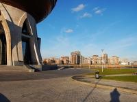 Казань, улица Меридианная, дом 1. многоквартирный дом