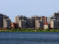 Казань, улица Меридианная, дом 4. многоквартирный дом
