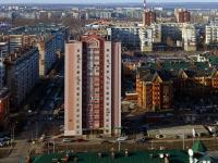 Казань, улица Меридианная, дом 8. многоквартирный дом