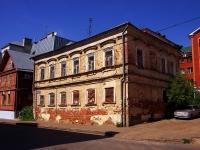 Казань, улица Некрасова, дом 15. неиспользуемое здание
