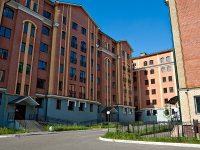 Казань, улица Некрасова, дом 25. многоквартирный дом