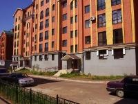 Казань, улица Некрасова, дом 19. многоквартирный дом