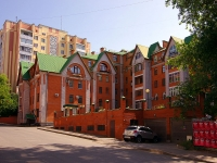 Казань, улица Некрасова, дом 38. многоквартирный дом
