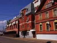Казань, улица Некрасова, дом 13. многоквартирный дом