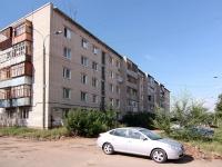 Казань, улица Ново-Азинская, дом 45. многоквартирный дом