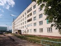 Казань, улица Ново-Азинская, дом 47. общежитие