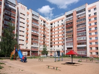 Казань, улица Ново-Светлая, дом 16. многоквартирный дом