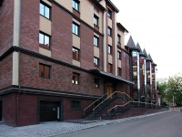 """Kazan, hotel """"Корона"""", Ovrazhnaya st, house 35/37"""