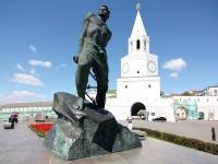 Казань, площадь 1-го Мая. памятник М. Джалилю