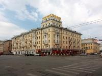 Казань, улица Пушкина, дом 3. многоквартирный дом