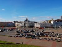 Казань, улица Пушкина. площадь Тукая