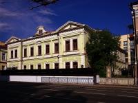 neighbour house: st. Pushkin, house 56. office building Институт Татарской Энциклопедии, научно-издательское учреждение