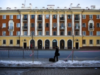 Kazan, Pushkin st, house 58. Apartment house