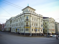 Kazan, office building Пушкинский, бизнес-центр, Pushkin st, house 52