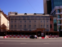 neighbour house: st. Pushkin, house 10. building under reconstruction
