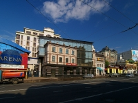 Kazan, multi-purpose building ПРИZMA, Pushkin st, house 19