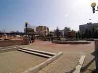 喀山市, Pushkin st, 街心公园