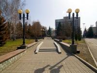 Kazan, Pushkin st, public garden