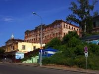 Казань, улица Рахматуллина, дом 6. здание на реконструкции Гостиница Дворянского собрания
