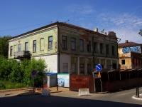 Казань, улица Рахматуллина, дом 8. здание на реконструкции