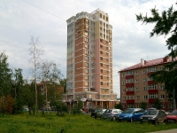 Казань, улица Качалова, дом 76. многоквартирный дом