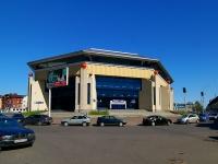 "neighbour house: st. Spartakovskaya, house 1. sport center ""Баскет-Холл"""