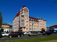 "neighbour house: st. Spartakovskaya, house 2В. office building ""Сакура"""