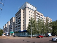 Kazan, Pobedy avenue, house 29. Apartment house