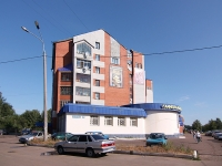Kazan, Pobedy avenue, house 35. Apartment house
