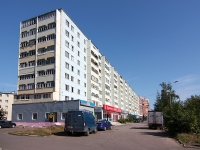 Kazan, Pobedy avenue, house 39. Apartment house