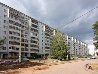 Kazan, Pobedy avenue, house 56. Apartment house