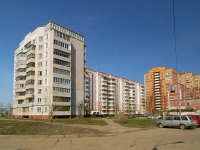 Kazan, Pobedy avenue, house 144. Apartment house