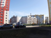 Kazan, Pobedy avenue, house 166. Apartment house