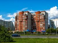 Kazan, Pobedy avenue, house 43. Apartment house