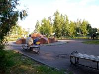 Kazan, public garden