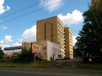Казань, улица Братьев Касимовых, дом 22. многоквартирный дом