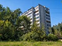 Казань, улица Сафиуллина, дом 18. многоквартирный дом