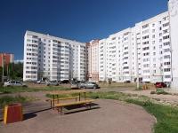 Казань, улица Сабан, дом 1А. многоквартирный дом