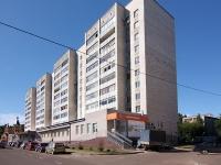 Казань, улица Сабан, дом 7А. многоквартирный дом