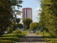 Казань, улица Сабан, дом 2А. многоквартирный дом
