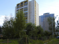 Казань, улица Сабан, дом 2. многоквартирный дом