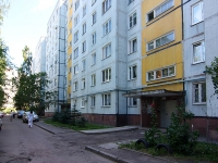 Kazan, Serov st, house 10. Apartment house