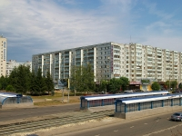 neighbour house: avenue. Fatykh Amirkhan, house 2. Apartment house