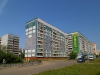 Kazan, Fatykh Amirkhan avenue, house 81. Apartment house